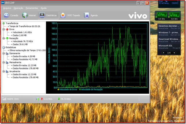 Windows 7 - Vivo ZAP